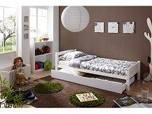 Dětská postel s úložným prostorem LUPO BÍLÁ