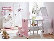 Dětský pokoj pro miminko růžová princezna