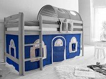 LÁTKOVÝ DOMEČEK dům modrá PG