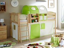 Dětská vyvýšená postel EKKI