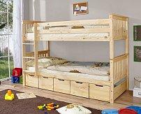 Patrová postel SAMMY s úložným prostorem MARIA