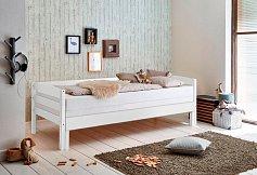 Rozkládací postel EMILIA buk bílá