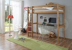 Patrová postel  horní spaní TOLI  buk