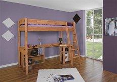 Dětská zvýšená postel TOLI PG -buk