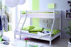 Patrová postel KATAMARAN 140x200 bílá