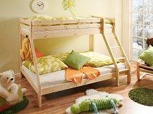 Patrová postel NOAH masiv 140x200