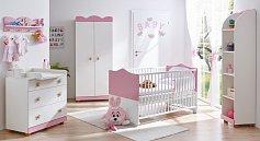 Dětský pokoj růžová princezna sestava 5 dílů