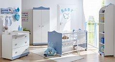 Dětský pokoj pro miminko PRINC sestava 5 dílů