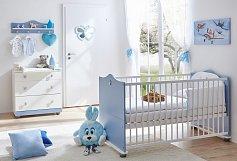 Dětský pokoj pro miminko modrý PRINC