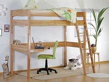 Dětská zvýšená postel RENATE -buk