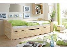 Rozkládací postel BEDBED-NATUR - 90x200