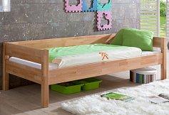 Dětská postel z masivu  NIK 90/200-buk