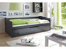 Rozkládací postel BEDBED-BLACK 90x200