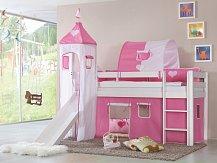 Dětská postel LILI WEISS se skluzavkou