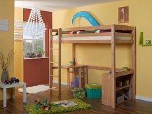 Dětská patrová postel LUPO 3 horní spaní