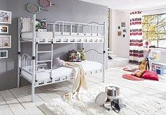Dětská patrova postel SLIM -kov