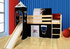 Dětská postel se skluzavkou ,,LILI EKO,,