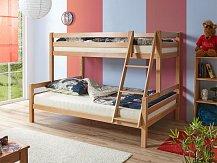 Patrová postel WAKE BUK 140