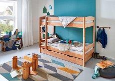 Patrová postel MICHELLE s přistýlkou