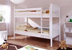 Patrová postel SAMMY BÍLÁ
