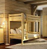 Patrová postel LK136 90X200 KOMPLET (2x matrace+2x rošt)