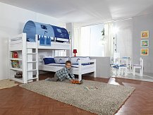 Patrová postel elko BENI L bílá