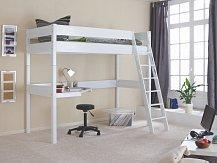 Dětská zvýšená postel RENATE bílá