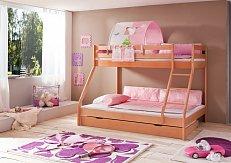 Patrová postel  s přistýlkou MIKE BUK