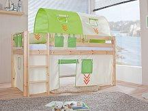 Dětská zvýšená postel -masiv LILI
