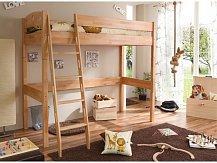 Patrová postel TOLI PG buk- horní spaní