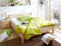 Manželská postel  masiv  180x200 LEON