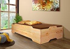 Rozkládací postel VARIO - masiv