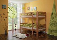 Patrová postel-masiv LUPO