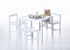 Dětský stůl a židle sestava HAPPY
