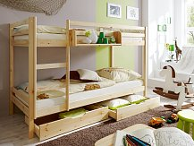 Patrová postel-palanda KEWIN masiv